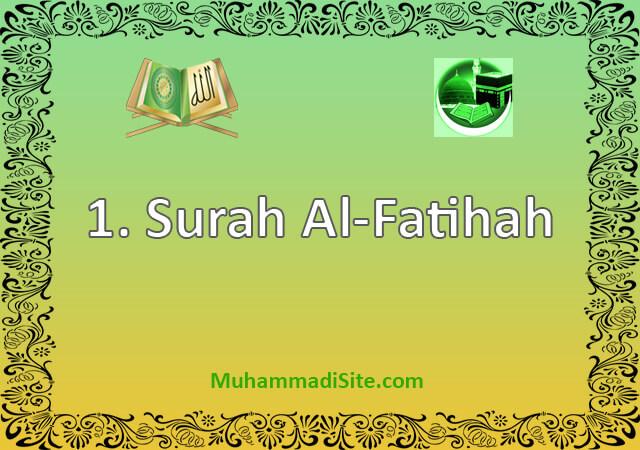 1-Surah-Al-Fatihah