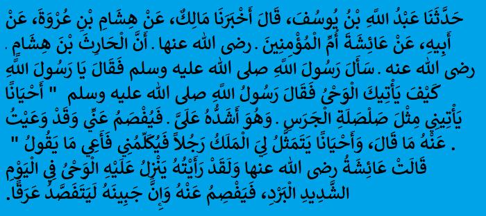 Sahih al-Bukhari2
